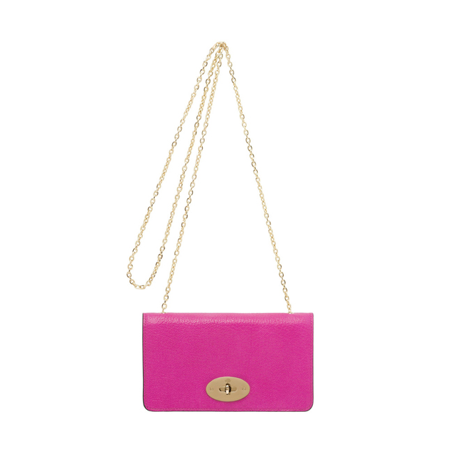 Mulberry Bayswater Clutch Wallet Pink Glossy Goat