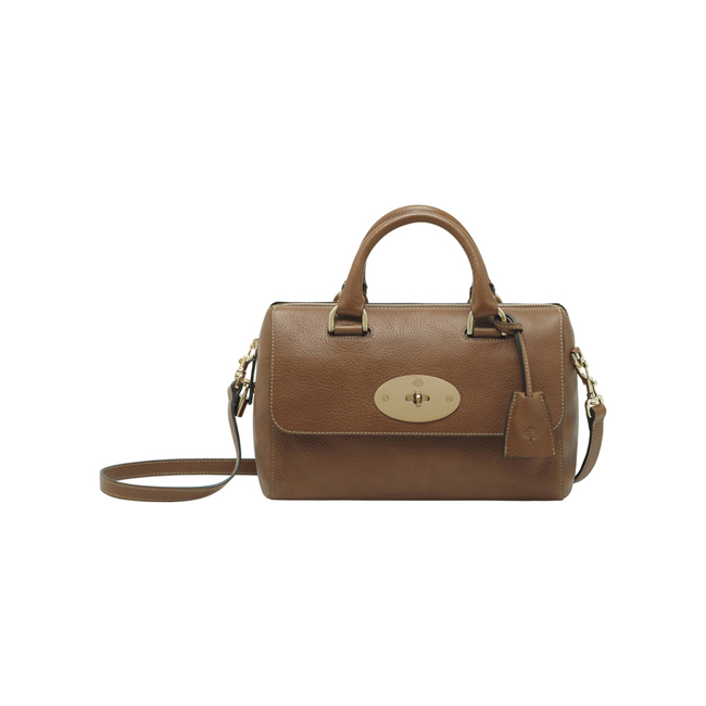 Mulberry Small Del Rey Oak Natural Leather