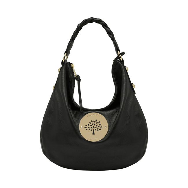 Mulberry Daria Medium Hobo Black Soft Spongy