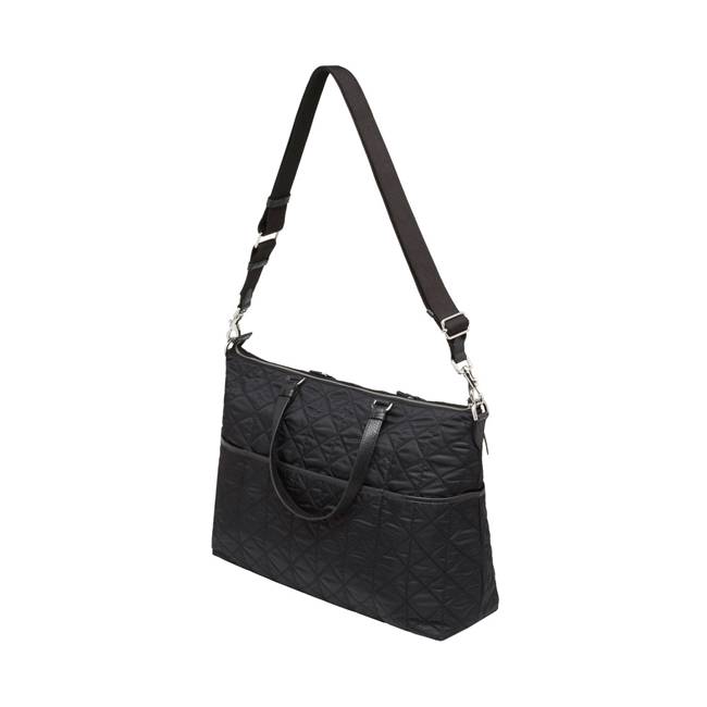 Mulberry Rosie Baby Bag Black Nylon
