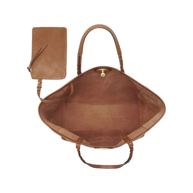 Mulberry Medium Dorset Tote Oak Soft Nappa