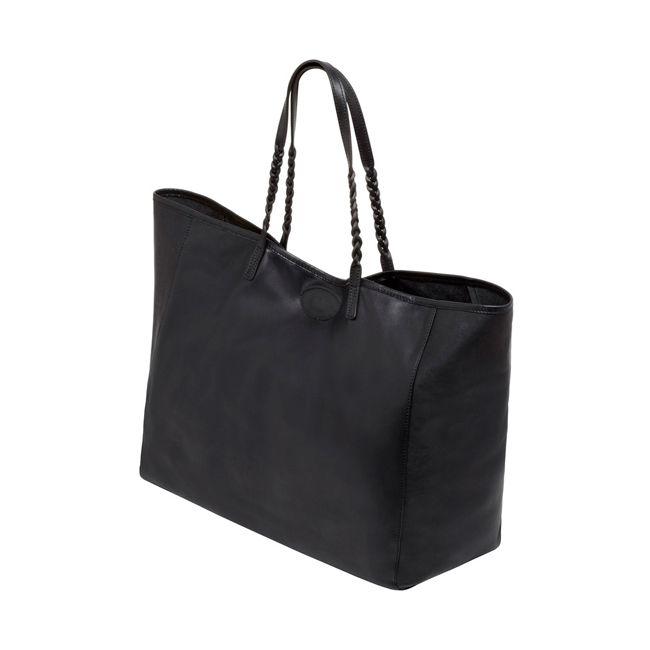 Mulberry Large Dorset Tote Black Soft Nappa